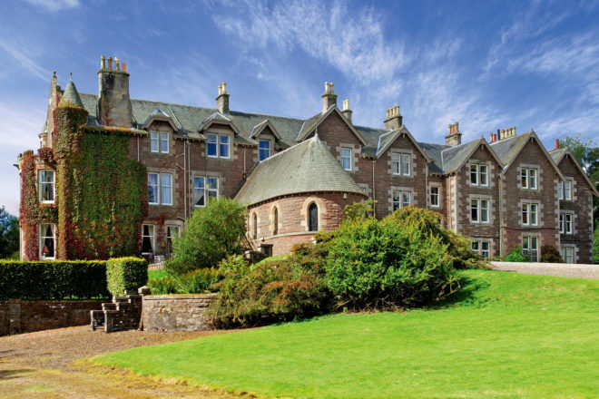 Cromlix House in Perthshire, Scotland, opened by tennis ace Andy Murray.