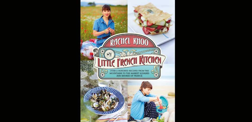 Rachel Khoo's latest food book, 'Little French Kitchen'