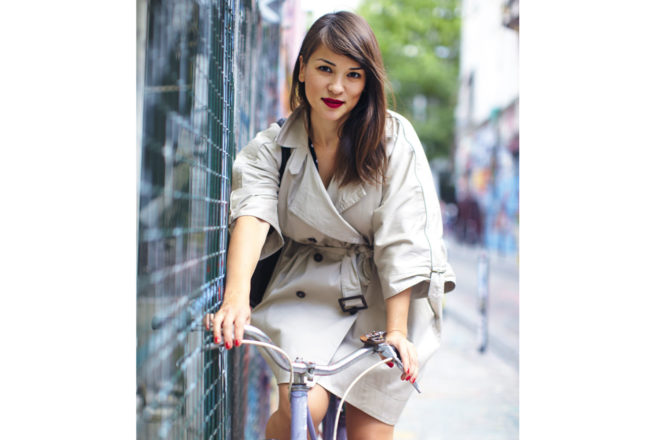Parisian restaurateur, TV star, author and Cordon Bleu graduate, Rachel Khoo.