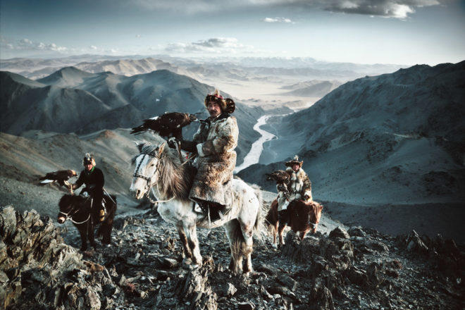 Kazakh in Mongolia, featured in the photo essay, 'Before They Pass'.