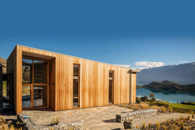 Aro Ha Wellness, just outside of Queenstown, New Zealand.