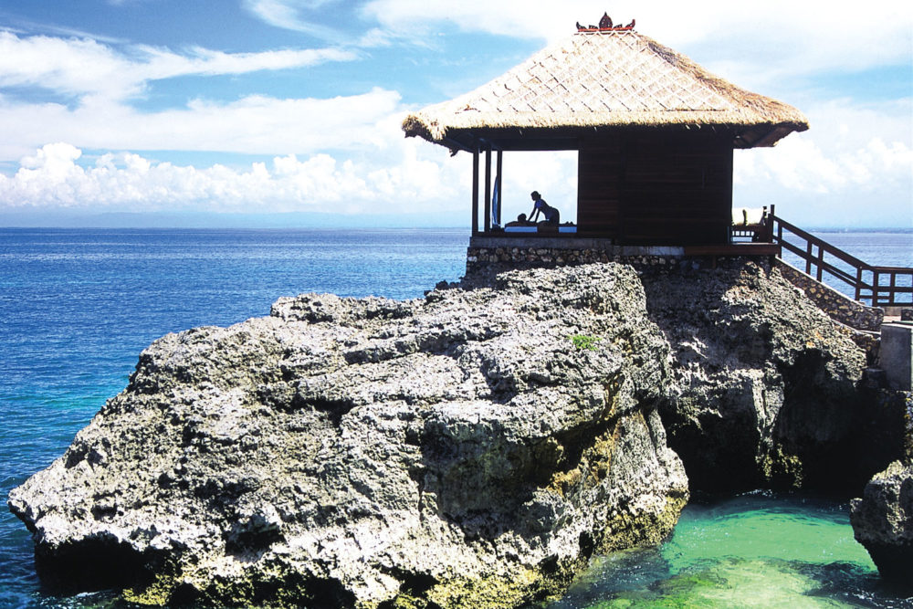 One of two 'Spa on the Rocks' villas at Ayana Resort and Spa Bali.