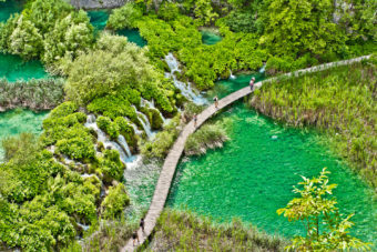 Welcome to Plitvice Lakes National Park, Plitvicka Jezera, Croatia.