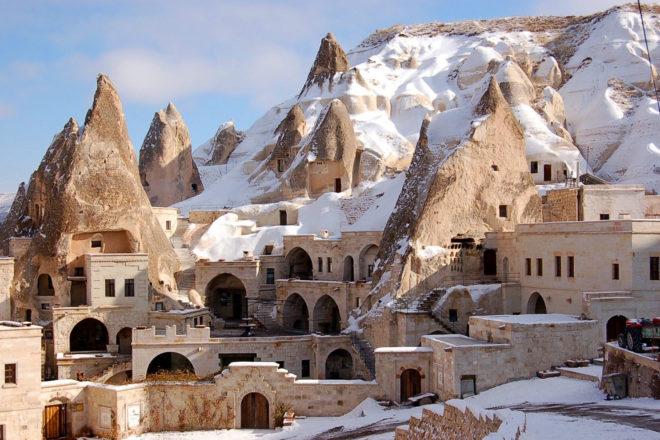The Fairy Chimney Inn, Turkey.