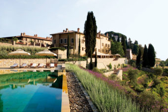 Castiglion del Bosco, just south of Florence in Tuscany.