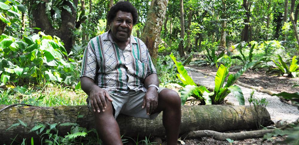 Jonas Tabi - head of Pentecost Island's tourism board