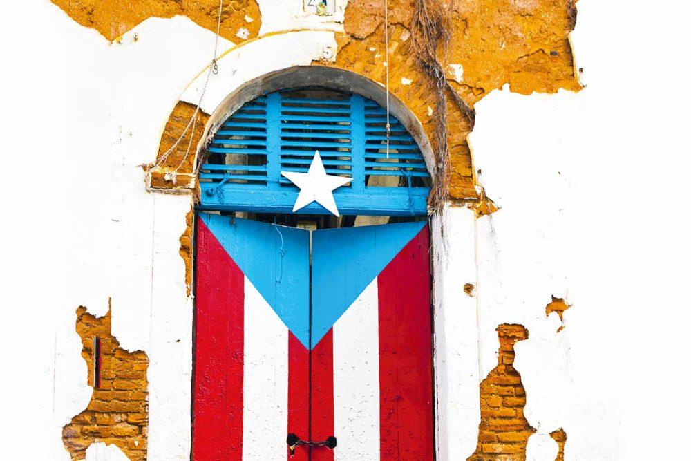 Port city San Juan in Puerto Rico.
