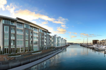 The new Sofitel Auckland property boasts a luxury marina view.