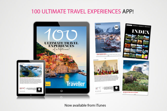 100 Ultimate Travel Experiences an iPad app