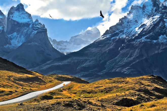 The Andes, ranked #14 in our countdown of '100 Ultimate Travel Experiences of a Lifetime'.