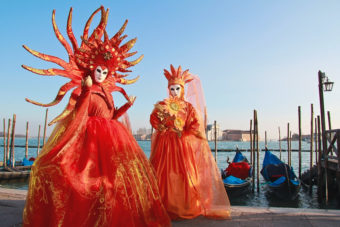 The Carnival of Venice, Italy, ranked #87 in our countdown of '100 Ultimate Travel Experiences of a Lifetime'.