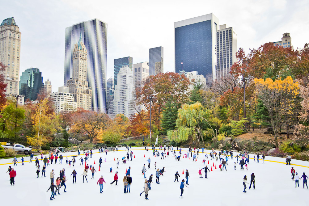 Christmas in New York City, ranked #55 in our countdown of '100 Ultimate Travel Experiences of a Lifetime'.