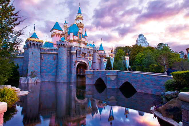 Disneyland California, ranked #98 in our countdown of '100 Ultimate Travel Experiences of a Lifetime'.