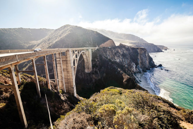 Driving along the Pacific Coast in California, USA, ranked #59 in our countdown of '100 Ultimate Travel Experiences of a Lifetime'.