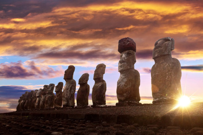 Easter Island, ranked #41 in our countdown of '100 Ultimate Travel Experiences of a Lifetime'.