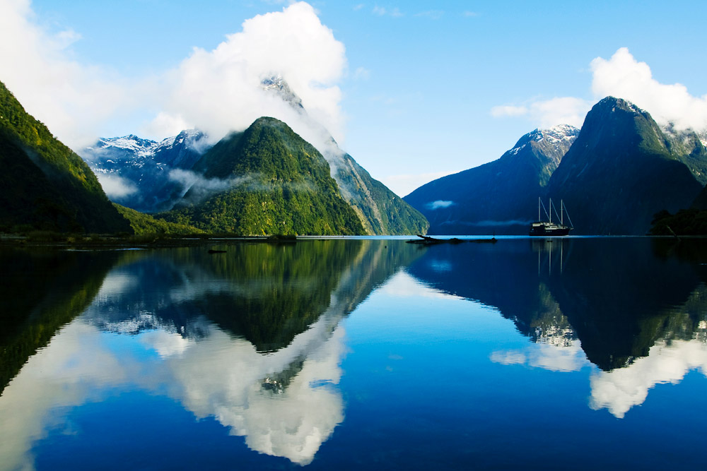 Fiordland National Park, NZ, ranked #95 in our countdown of '100 Ultimate Travel Experiences of a Lifetime'.
