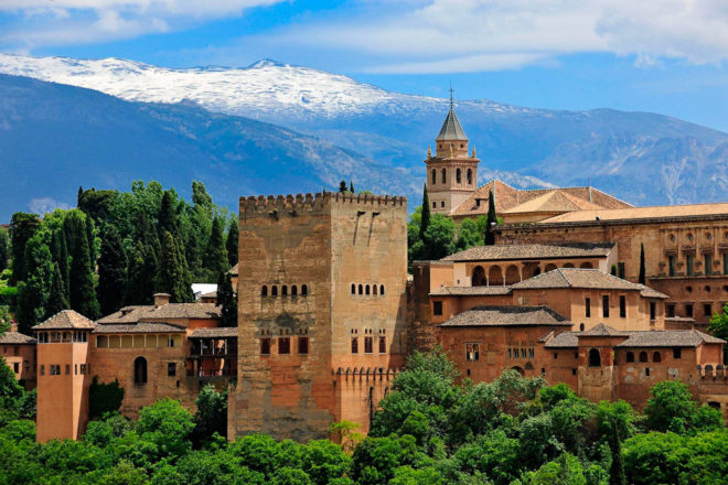 Alhambra in Granada, ranked #19 in our countdown of '100 Ultimate Travel Experiences of a Lifetime'.