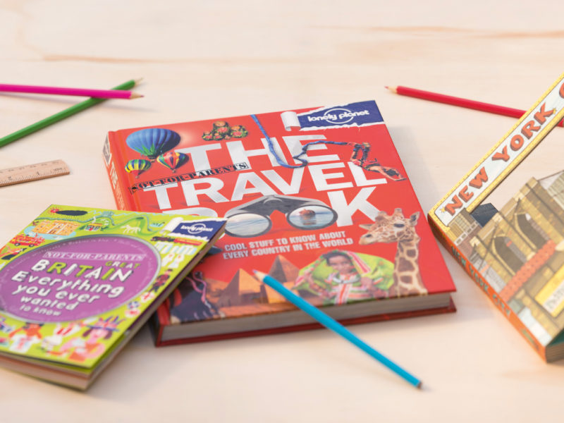 Our favourite travel guidebooks for children.