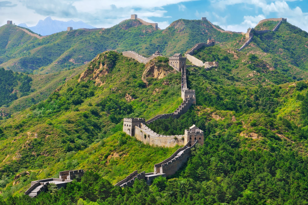 The Great Wall of China, ranked #8 in our countdown of '100 Ultimate Travel Experiences of a Lifetime'.