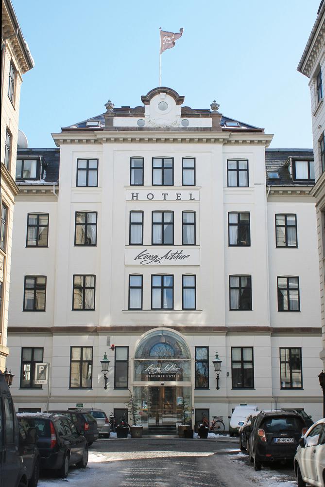 Hotel Kong Arthur, Copenhagen.