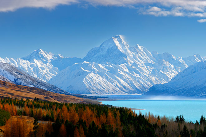 New Zealand's South Island, ranked #36 in our countdown of '100 Ultimate Travel Experiences of a Lifetime'.
