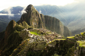 The Inca Trail to Machu Picchu, ranked #6 in our countdown of '100 Ultimate Travel Experiences of a Lifetime'.