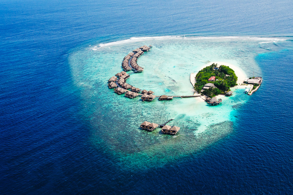 The Maldives, ranked #70 in our countdown of '100 Ultimate Travel Experiences of a Lifetime'.