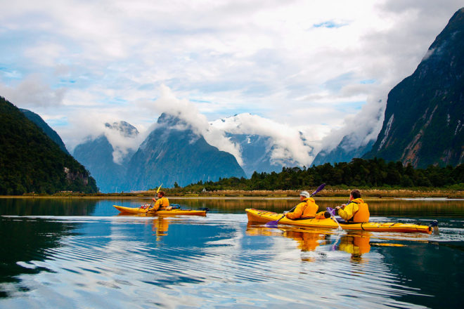 Milford Sound in New Zealand, ranked #49 in our countdown of '100 Ultimate Travel Experiences of a Lifetime'.