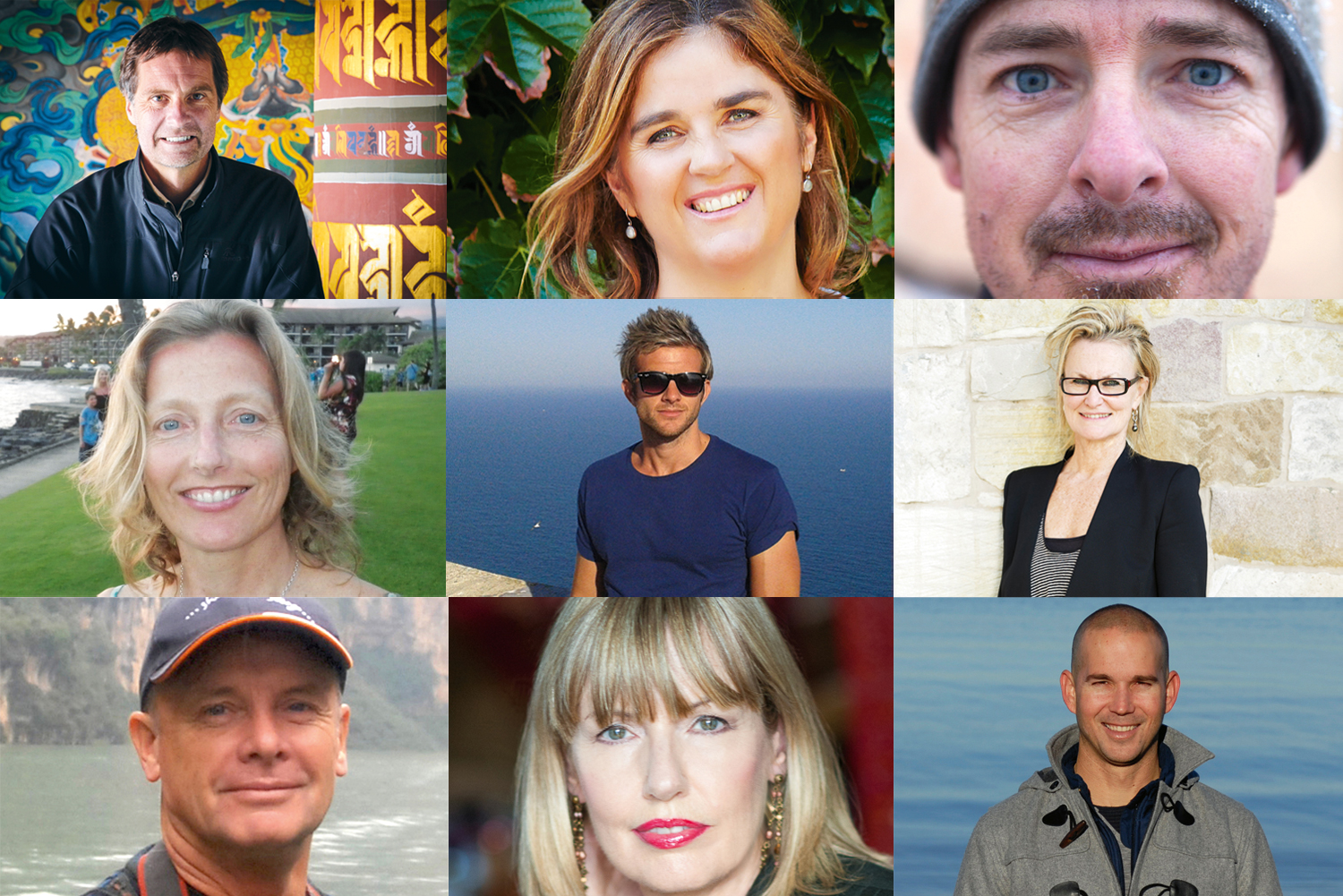 The judging panel behind our '100 Ultimate Travel Experiences of a Lifetime' countdown.