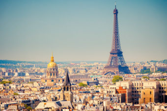 Paris, ranked #13 in our countdown of '100 Ultimate Travel Experiences of a Lifetime'.