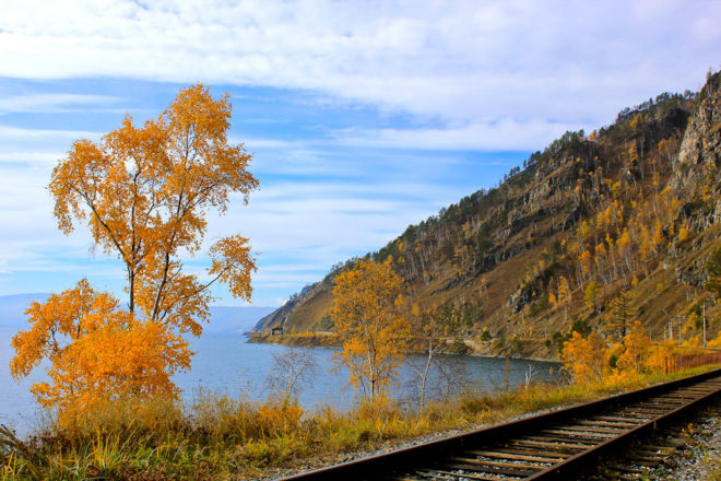 The Trans-Siberian Railway, ranked #39 in our countdown of '100 Ultimate Travel Experiences of a Lifetime'.