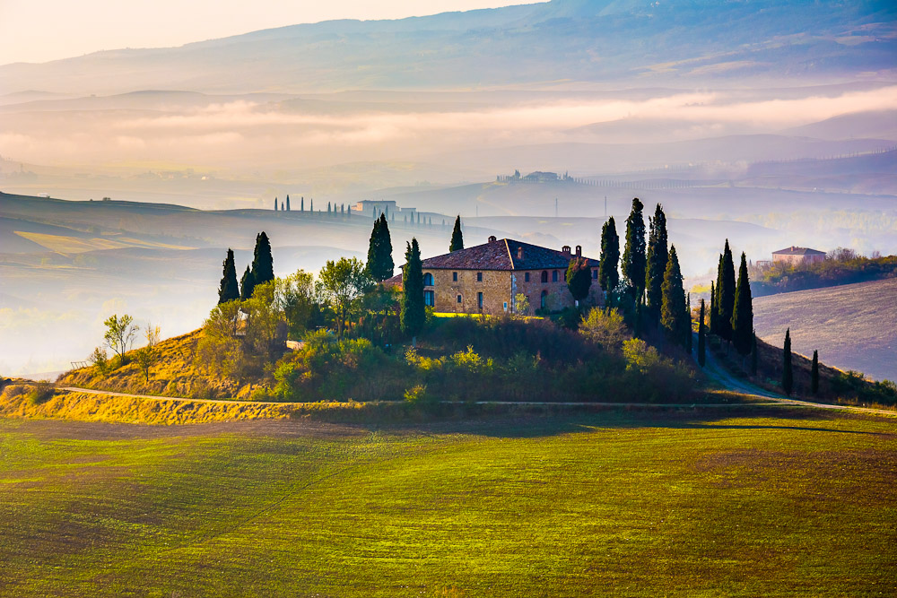 Staying in a Tuscan villa, ranked #34 in our countdown of '100 Ultimate Travel Experiences of a Lifetime'.