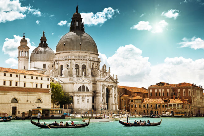 Venice in Italy, ranked #57 in our countdown of '100 Ultimate Travel Experiences of a Lifetime'.