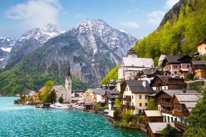 Hallstatt Austria Europe's cutest town