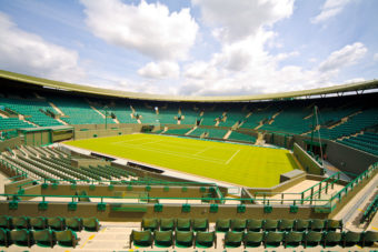 Wimbledon in London, ranked #27 in our countdown of '100 Ultimate Travel Experiences of a Lifetime'.