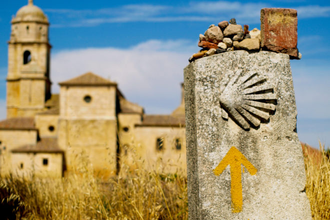 The El Camino de Santiago in Spain, ranked #35 in our countdown of '100 Ultimate Travel Experiences of a Lifetime'.