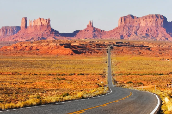 Monument Valley, USA, ranked #65 in our countdown of '100 Ultimate Travel Experiences of a Lifetime'.