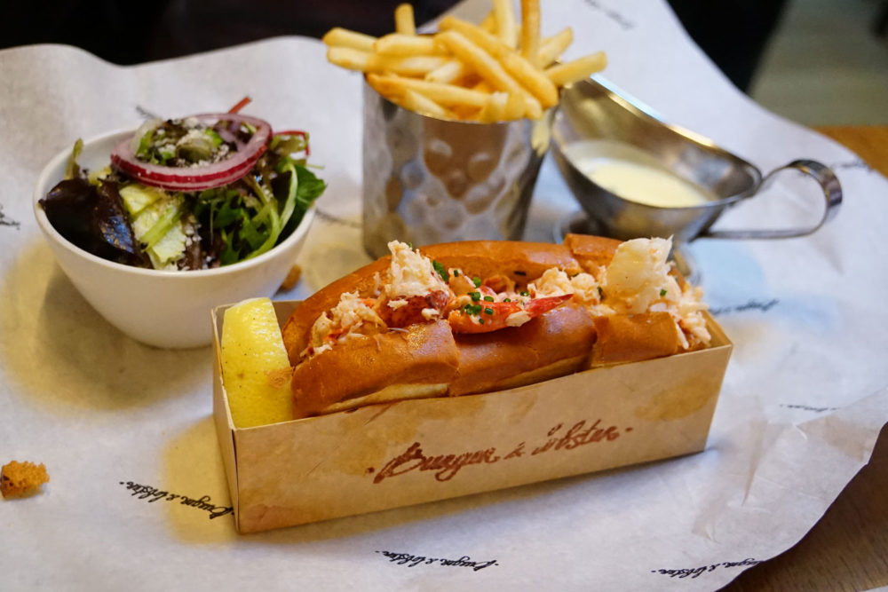 Burger & Lobster restaurant, London.