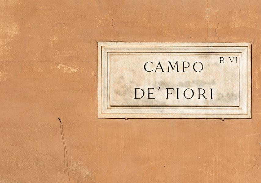 Campo De Fiori Markets