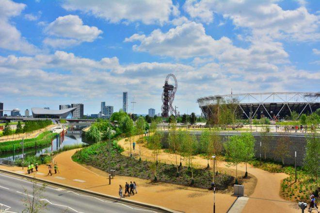Quen Elizabeth Olympic Park London