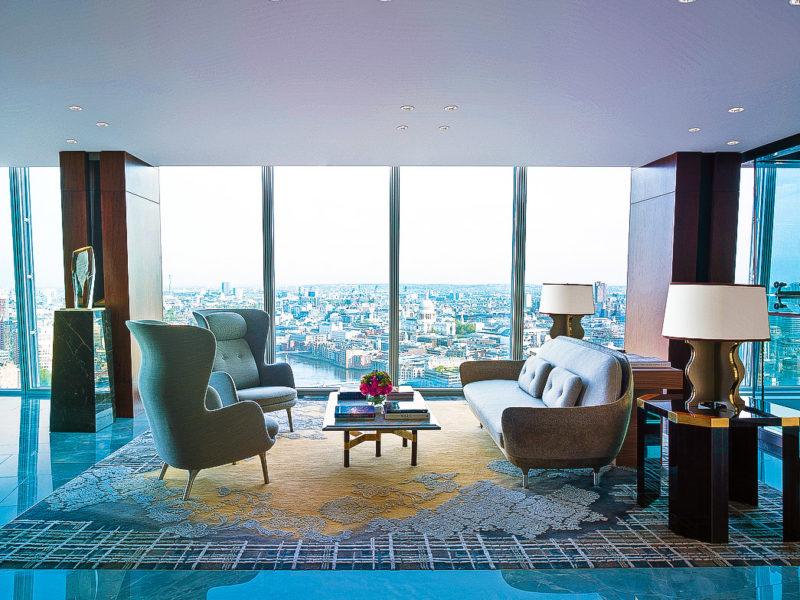 Shangri La Hotel at the Shard London