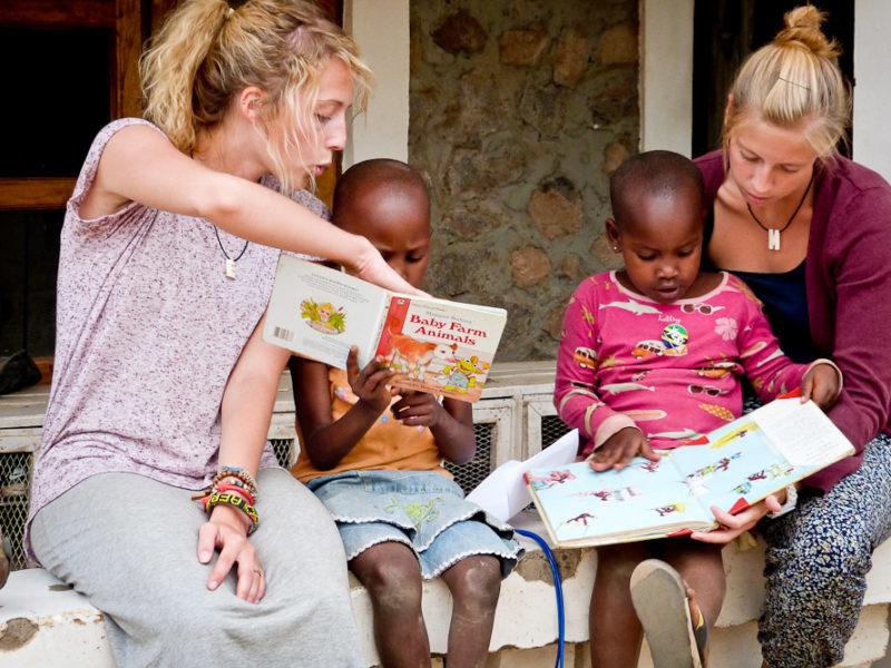 Volunteering overseas