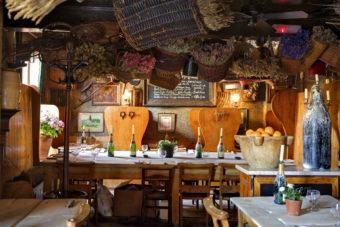 Maggie Jones restaurant, London.