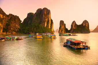 Halong Bay - a must-visit destination for any first-timer in Vietnam.