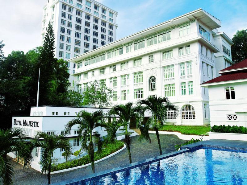 The Majestic Hotel Kuala Lumpur, Malaysia.