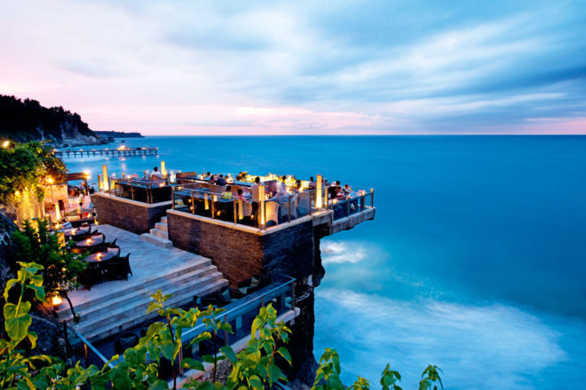Rock Bar at Ayana Resort, Bali.