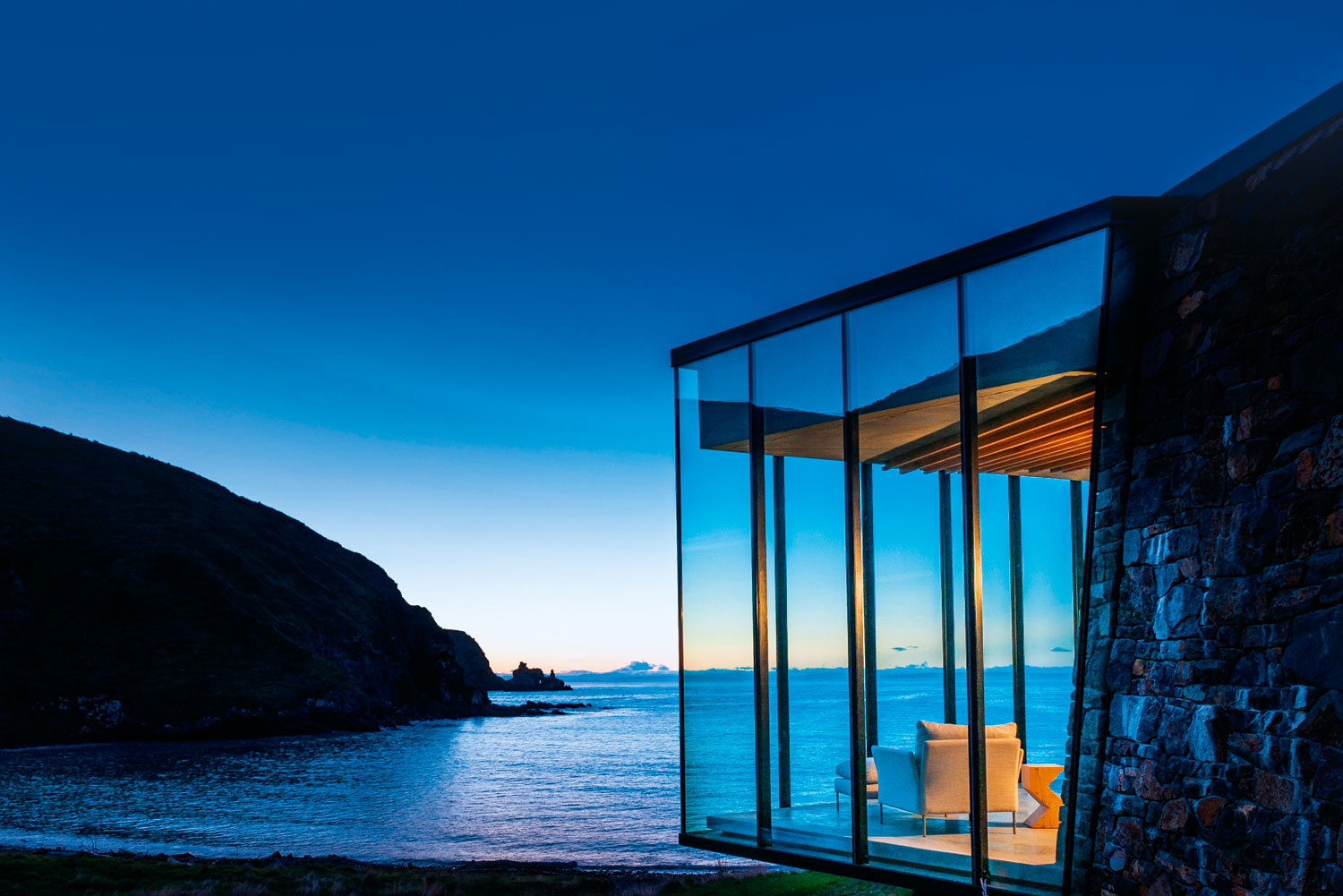 Interiors Modern Home Furniture The Best Blissfully Quiet Retreats In New Zealand