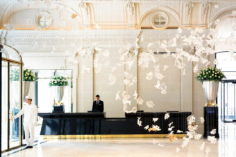 The lavish new Peninsula Paris hotel.