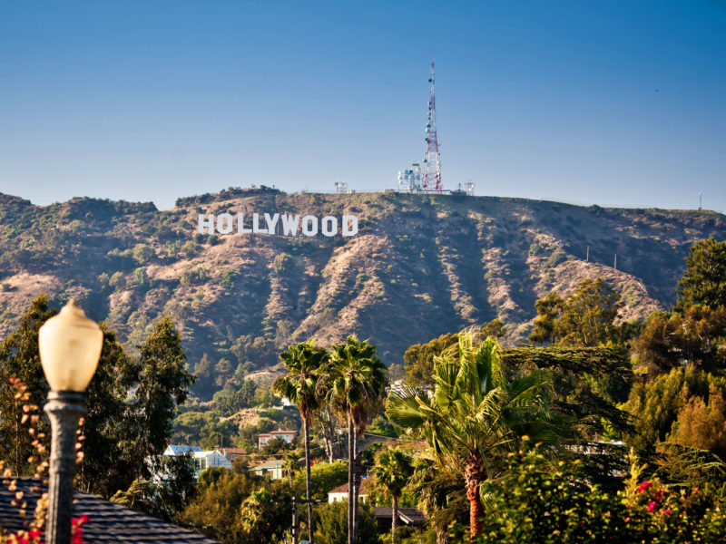 Los Angeles - the home of Hollywood.