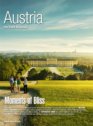 Austria Moments of Bliss Magazine